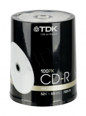 CDR CDR TDK 700MB PRINTABLE