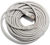 SIEC KABEL PATCHCORD CAT.5e RJ45 STLU5E25MG 25M
