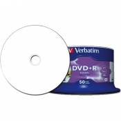 CDR DVD+R VERBATIM 4.7GB PRINTABLE NO ID