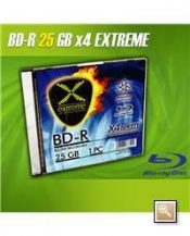 CDR BD-R EXTREME 25GB SLIM